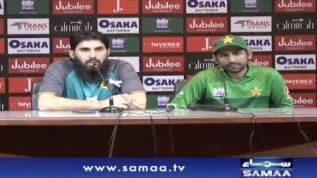 Head Coach Misbah Ul Haq & Captain Sarfraz Ahmed Press Conference