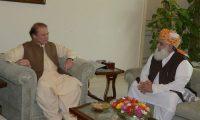 Nawaz Sharif ki Maulana Fazal ur Rehman ki himayat