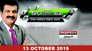 Sports Page – 13 October, 2019