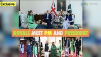 Royals meet PM and President