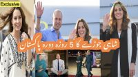 Prince William, Kate leave for London after completing 5-day trip of PAK