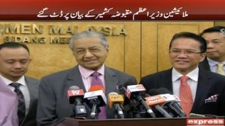 Malaysian PM stands by Kashmir comment