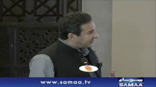 Waseem Akram addresses at event in Islamabad Today