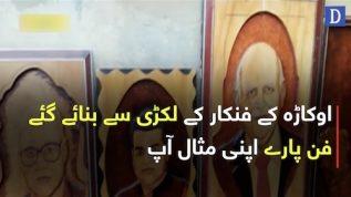 Pakistani Wood artist ka heran kar denay wala fun