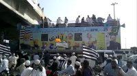 JUI-F ka kashmirion sey Izhar-e-Yakjehti kay lia rally