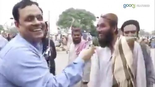 Sahafi or Azadi march kay shuraka ka dilchasp mukalma.