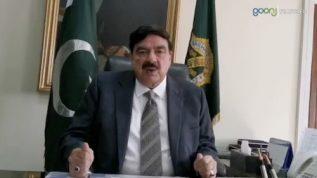 Sheikh Rasheed ka Maulana kay Azadi March par tabsara
