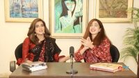 Watch Fiza Ali take jibes on the host