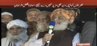 Hukmarano ko mazeed aur waqt nahi de sakte: Maulana Fazal ur Rehman