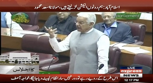 Khawaja Asif reveals a big secret