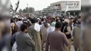 JUI-F workers protest in Jacobabad