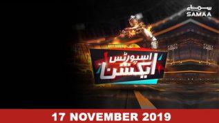 Sports Action – 17 November 2019