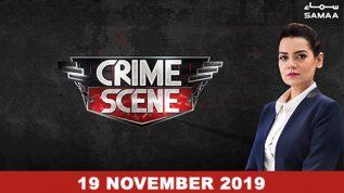 Crime Scene – 19 November 2019