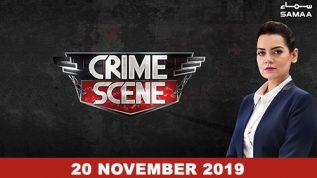 Crime Scene – 20 November 2019