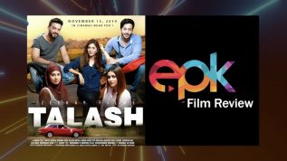 """Epk review of Pakistani film """"Talash"""""""