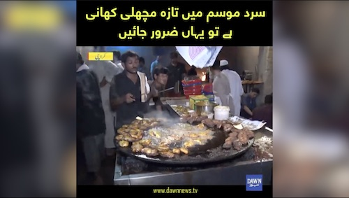 Taza machli khani ho tou yahan zaror jaein