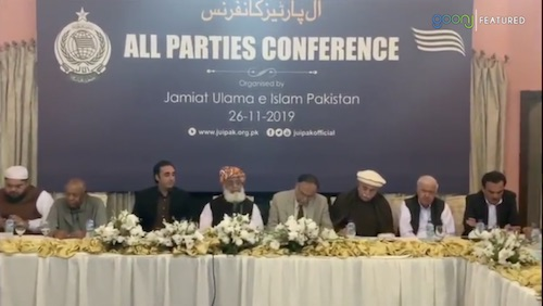 JUIF APC underway in Islamabad