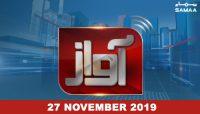 Awaz – 27 November 2019