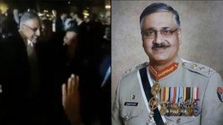 Ex-CJCSC General Zubair Hayat ki farewell video