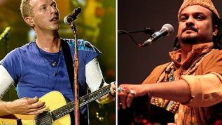 Amjad Sabri feature's in ColdPlay's latest Song
