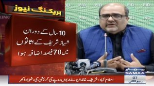 Shehbaz's family assets increased by 70pc in last 10 years says Shahzad Akbar