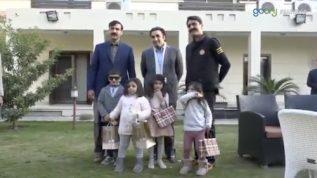 Little Jiyali Horan Fatima meets Bilawal Bhutto Zardari