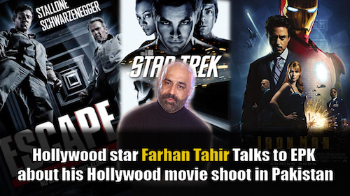 In talks with Hollywood actor Farhan Tahir