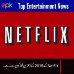 EPK report on top series of Netflix in 2019