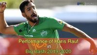 Performance of Haris Rauf in Big Bash 2019-2020