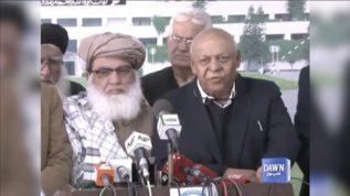 Peoples Party and Muslim League(N) aaj dictatorship k saath khari hai, Hasil bizenjo