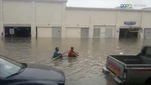 Heavy Rain in Dubai