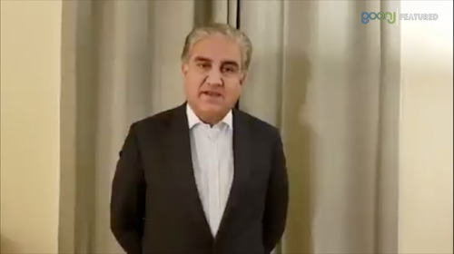 Special video statement of FM Qureshi on the progress of Afghan peace process