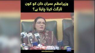 Usman Buzdar ko target karnay waly Imran Khan ko target kar rahe hein: Firdos Ashiq Awan