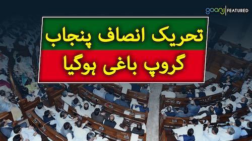 Tehreek-e-Insaf Punjab group baaghi ho gya