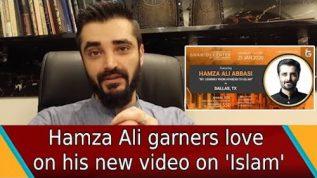 Hamza Ali Abbasi garners love on his new video on Islam