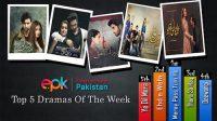EPK top 5 dramas of the week