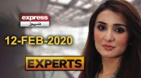 Pakistani nation angry on Imran's Govt | Express Experts | 12 February 2020