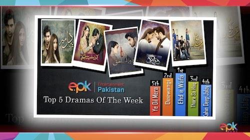 Top 5 best dramas of the week popular Pakistani dramas