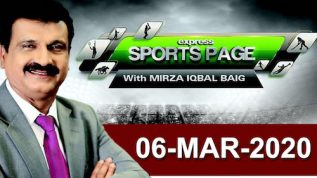 Ali Zafar Exclusive Interview | Sports Page With Mirza Iqbal | 7 March 2020