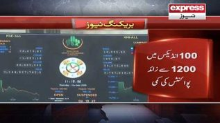 Pakistan Stock exchange mein shadeed mandi