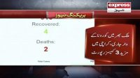 Karachi main mazeed 3 corona cases report
