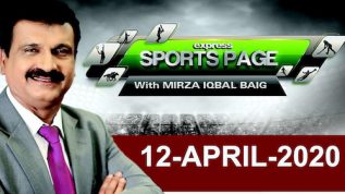 Waseem Akram Interview | Sports Page With Mirza Iqbal Baig | 12 April 2020