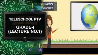 Teleschool PTV Grade-I (Lecture No.1)