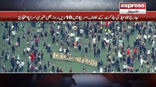 10 days and protests continue in USA