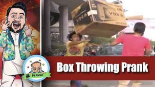 P4 Pakao – Box Throwing Prank