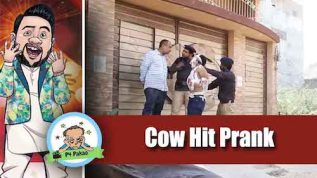 P4 Pakao – Cow Hit Prank by Nadir Ali