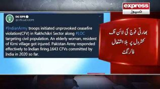 India continues to violate LoC